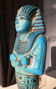 Shabti of Set I in 'Pharaoh' exhibition