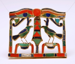Riqqeh pectoral. Acc. no 5966. Front. © Paul Cliff