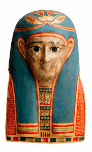 Mummy mask of the Ptolemaic period, probably from Hawara